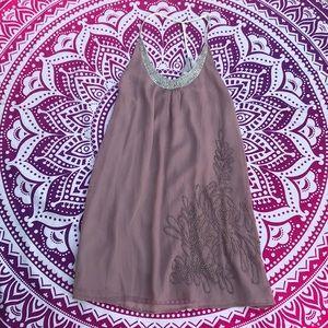 NWT 🌺 Shear Beaded Petticoat Alley Dress